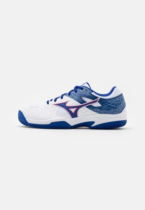 BREAK SHOT 2 CC - Clay court tennis shoes - reflex blue/white/diva pink