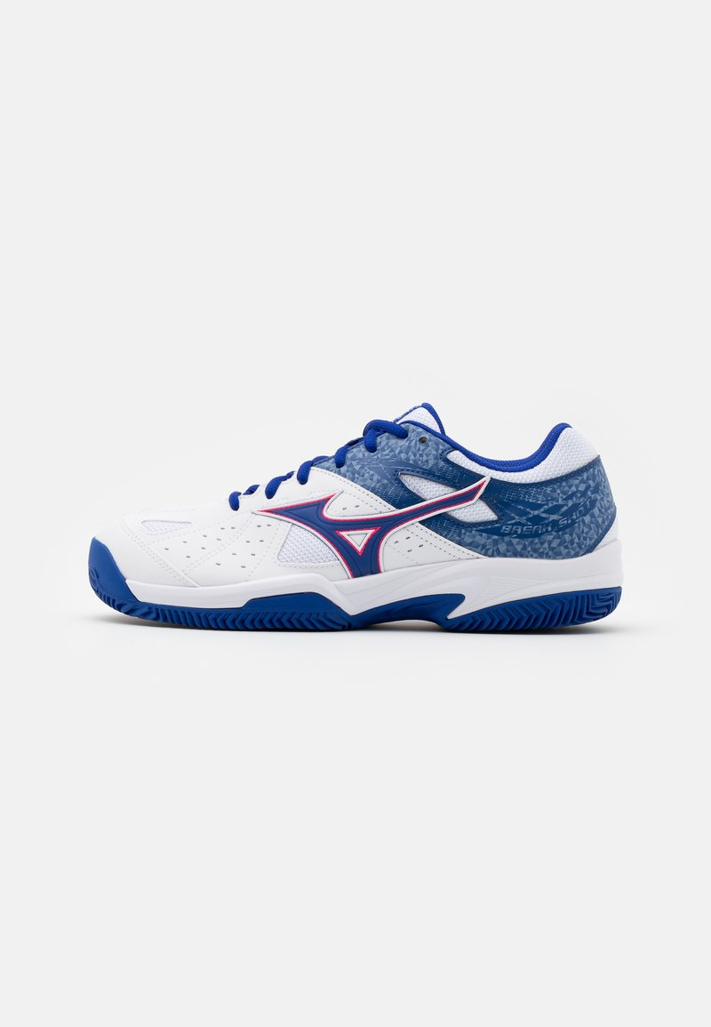 Mizuno - BREAK SHOT 2 CC - Tennissko til grusbane - reflex blue/white/diva pink