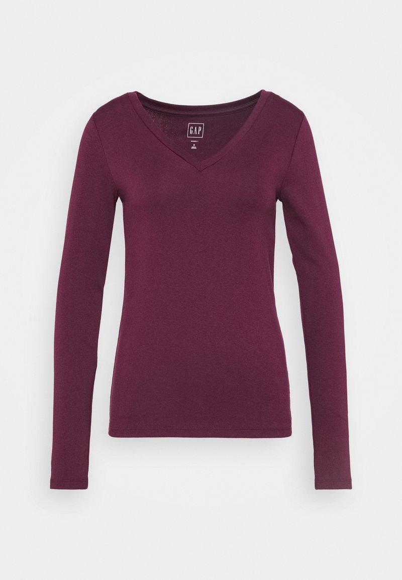 GAP - Long sleeved top - secret plum