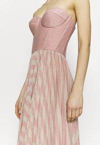Elisabetta Franchi - Cocktail dress / Party dress - pink/oro - 4
