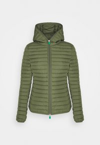 ELLA HOODED JACKET - Winter jacket - cactus green
