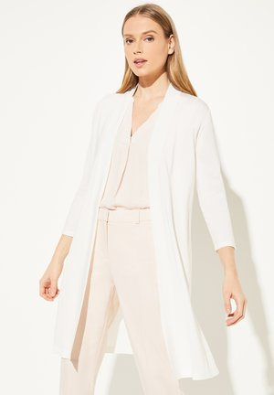 OPEN FRONT-DESIGN - Cardigan - white