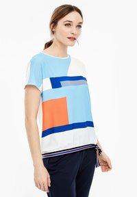 s.Oliver - Print T-shirt - off-white - 0
