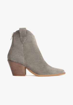 SIGME - Classic ankle boots - beige