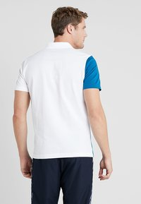 Lacoste Sport - TENNIS BLOCK - Piké - white/sumatra/illumination/black - 2