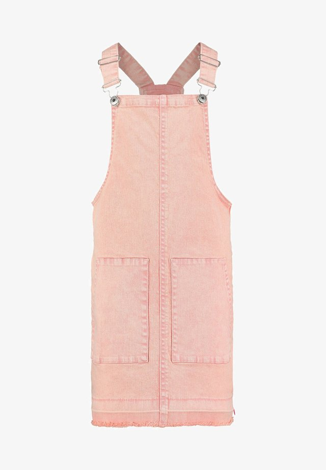 INOUK - Denim dress - dusty rose