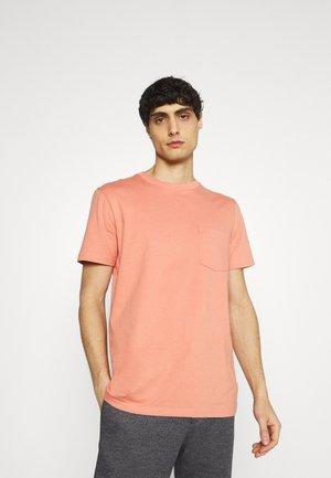 Basic T-shirt - sunburn orange