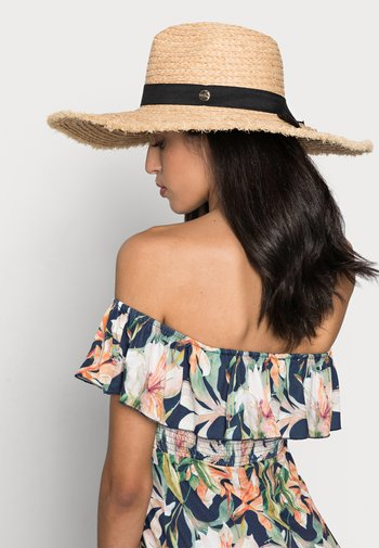 SHADYLADYRAFFIA PANAMA HAT - Hat - natural