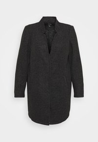 Vero Moda Curve - VMBRUSHEDKATRINE - Light jacket - dark grey melange - 4
