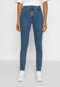 Levi's® - 721 HIGH RISE SKINNY - Jeans Skinny Fit - bogota heart - 0
