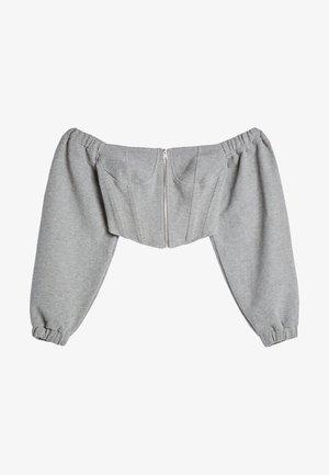 Blouse - light grey