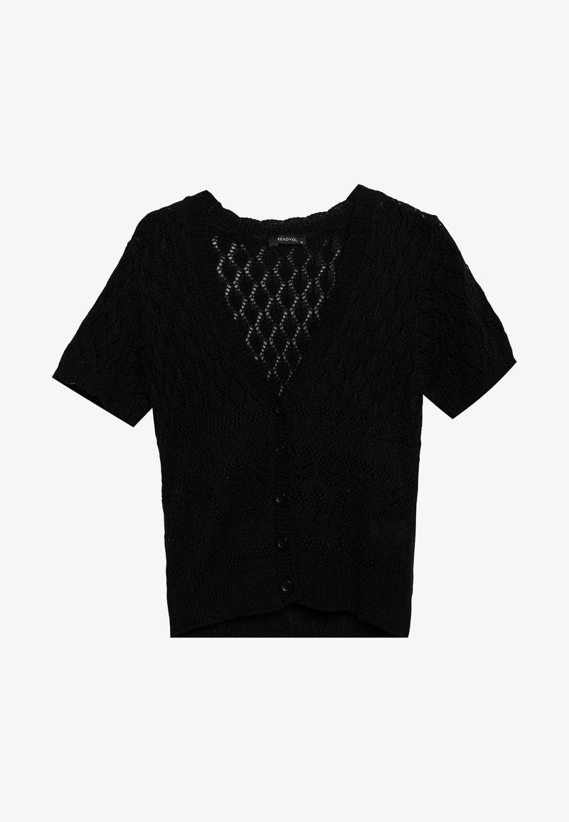 Trendyol - Cardigan - black