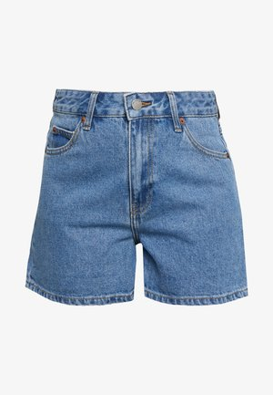 JEN - Denim shorts - retro sky blue