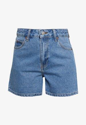 JEN - Jeans Short / cowboy shorts - retro sky blue