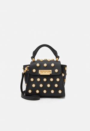 EARTHA MINI TOP HANDLE CROSSBODY - Handbag - black