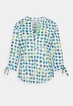 Pitkähihainen paita - blue/green