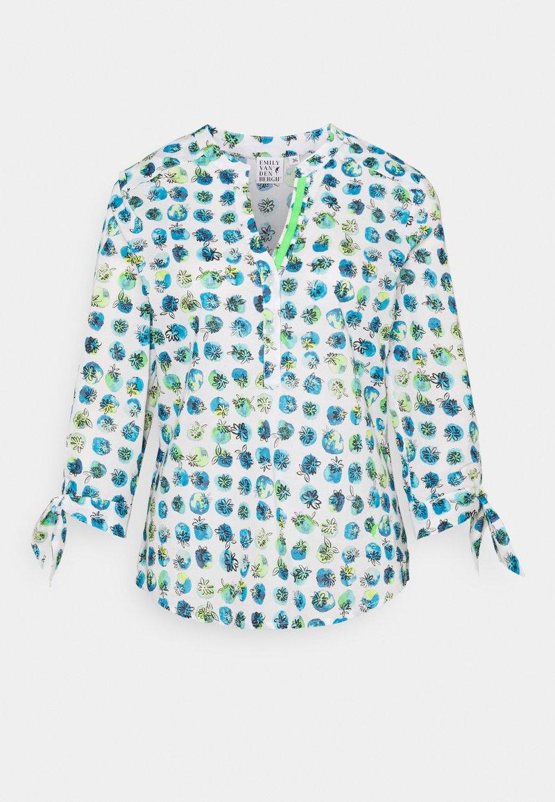 Emily van den Bergh - Long sleeved top - blue/green