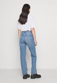 Cotton On - HIGH STRETCH - Straight leg jeans - bronte blue - 2
