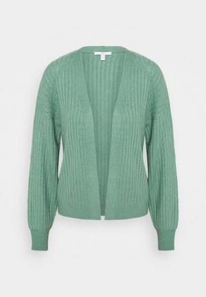 CREW CARDI - Cardigan - dusty green