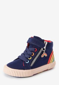 Next - ELASTIC LACE HIGH TOP - Zapatillas altas - blue - 2
