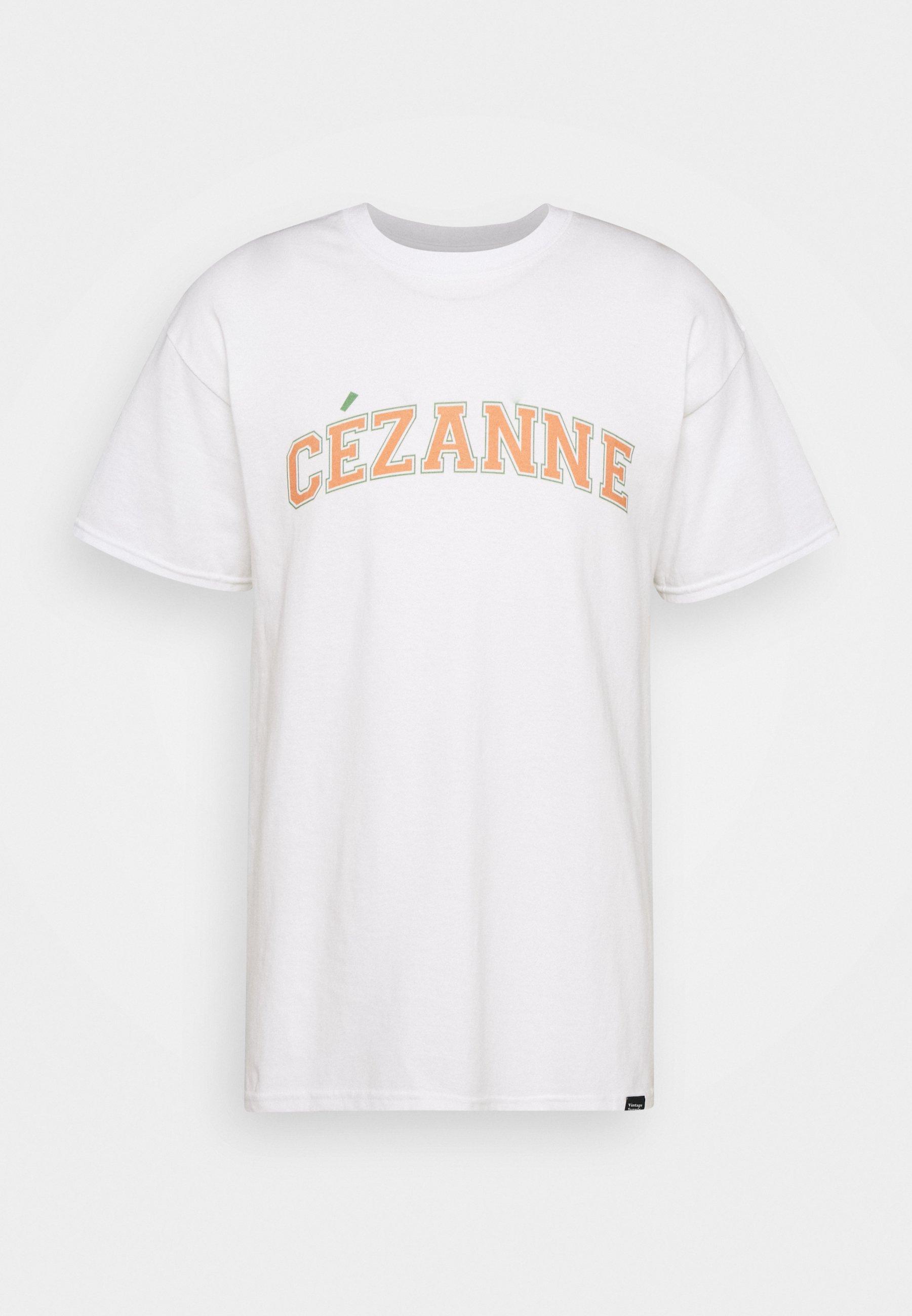 Men CEZANNE VARSITY ARTS  - Print T-shirt