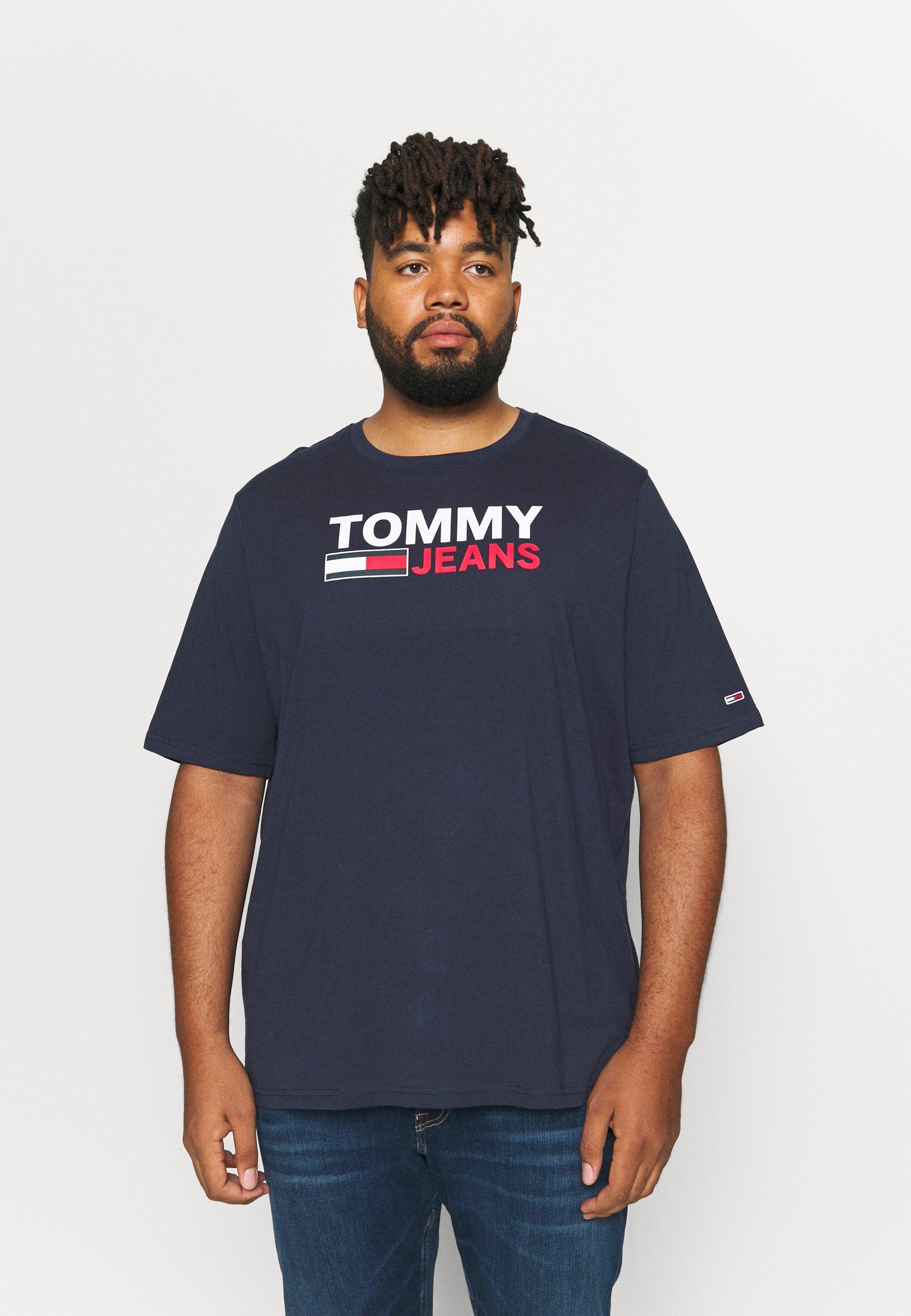 Men PLUS CORP LOGO TEE - Print T-shirt