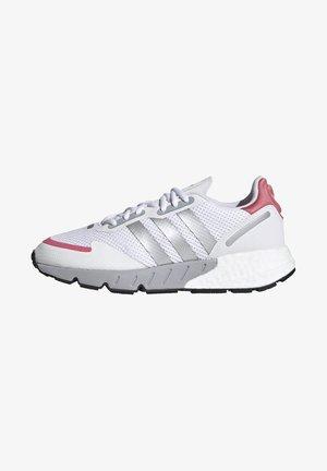 ZX 1K BOOST  - Trainers - footwear white/silver metallic/hazy rose