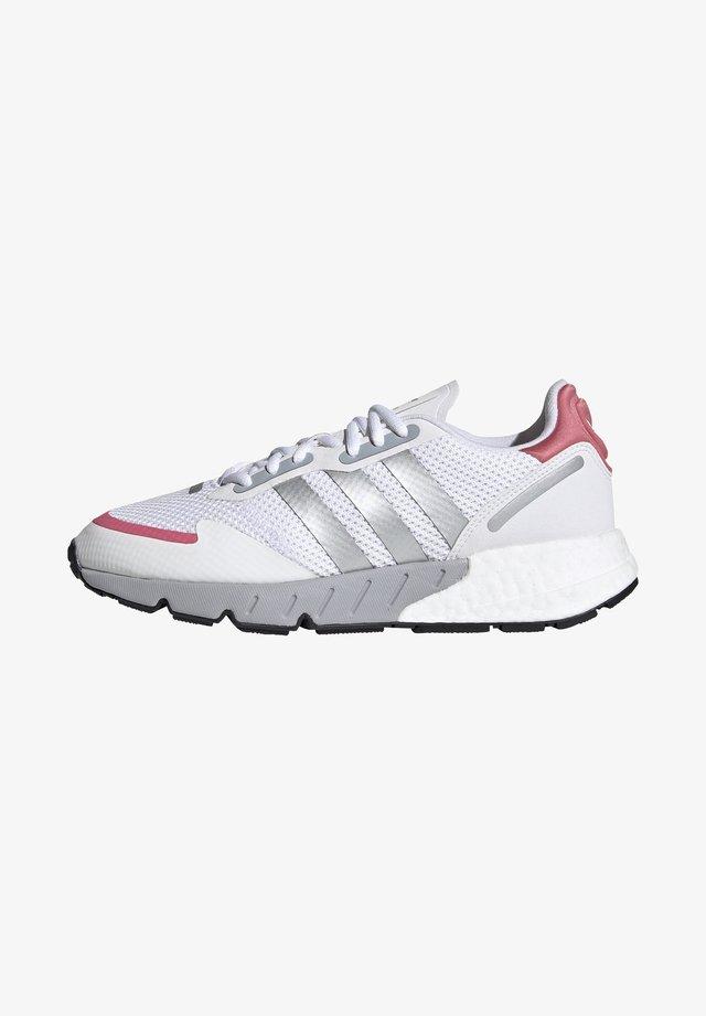 ZX 1K BOOST  - Zapatillas - footwear white/silver metallic/hazy rose