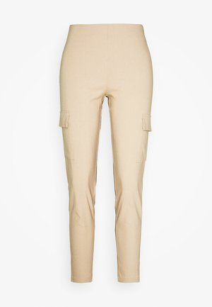 NMPERA - Cargo trousers - beige