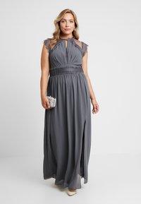 TFNC Curve - VALETTA MAXI - Společenské šaty - vintage grey - 2