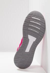 adidas Performance - RUNFALCON - Zapatillas de running neutras - real magenta/footwear white/grey three - 4