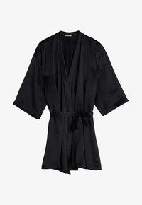 Intimissimi - KIMONO AUS SEIDE - Dressing gown - nero - 3