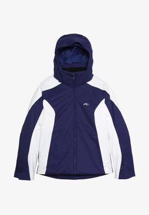 GIRLS FORMULA JACKET - Snowboard jacket - into the blue/white