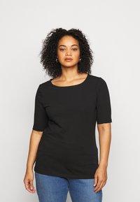 Anna Field Curvy - T-shirts - black - 0