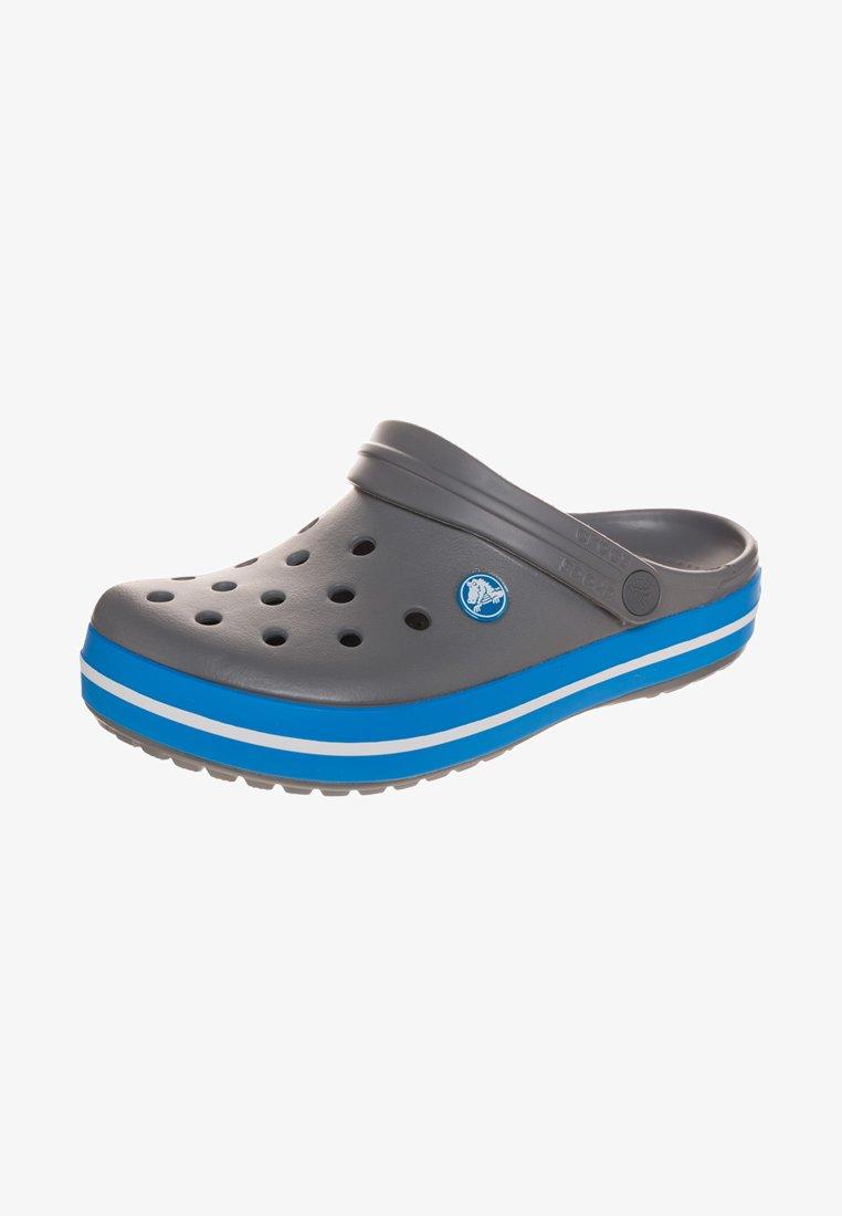 Crocs - CROCBAND UNISEX - Clogs - charcoal/ocean