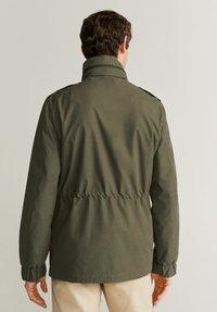 Mango - ARMY - Light jacket - khaki - 2