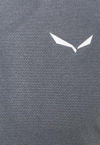 Salewa - PEDROC DRY - T-shirt med print - navy blazer melange - 2