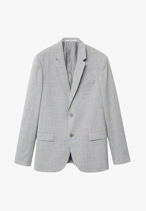 Blazer jacket - mittelgrau