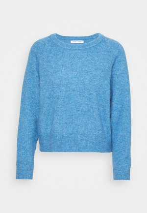 NOR SHORT - Jersey de punto - lichen blue melange
