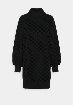 ALL OVER - Vestido informal - black