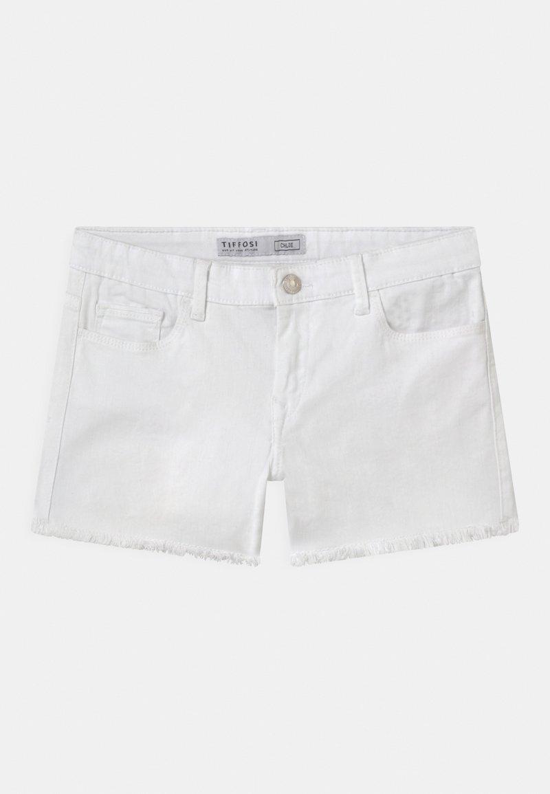 Tiffosi - Jeansshort - white