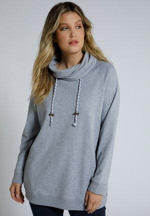 Sweatshirt - hellgrau mélange