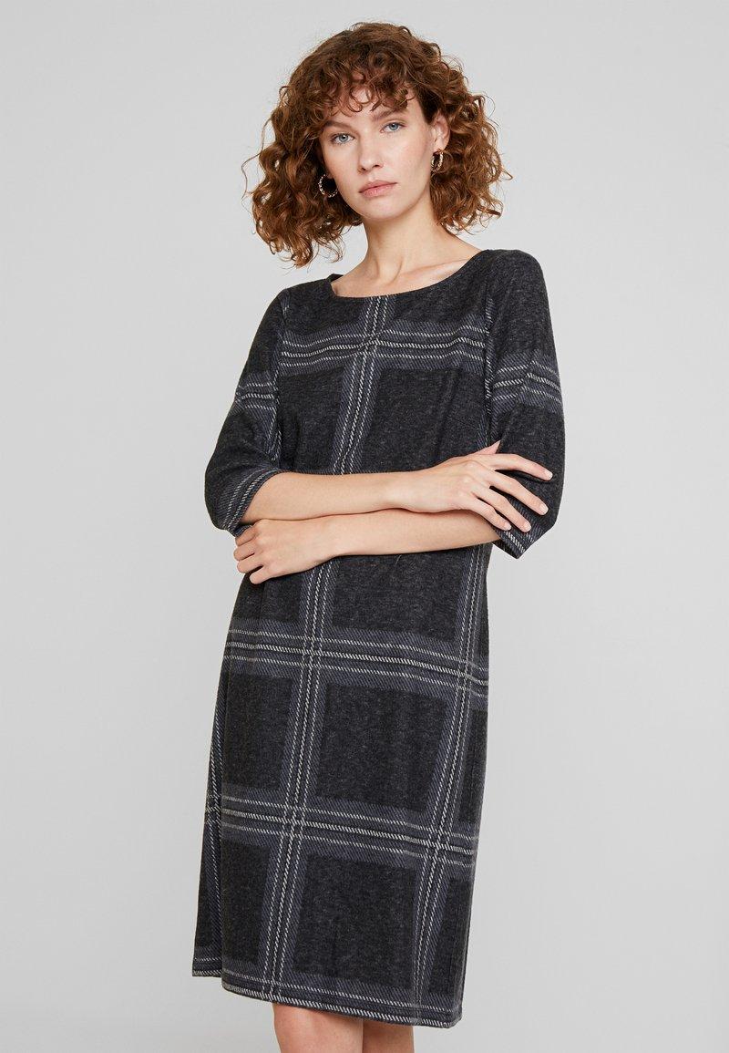 Esprit - SWEAT DRESS - Gebreide jurk - black