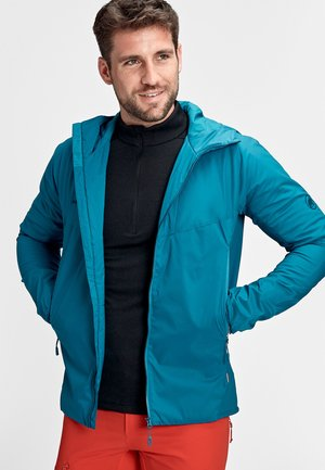 RIME LIGHT IN FLEX - Waterproof jacket - sapphire