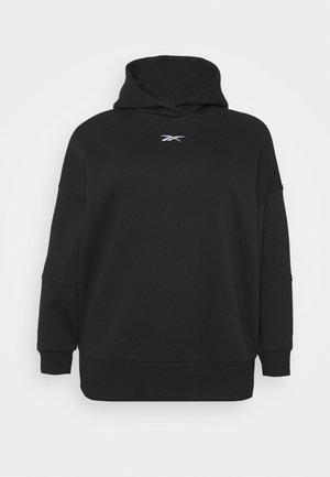 OVERSIZE HOODIE - Sweatshirt - black