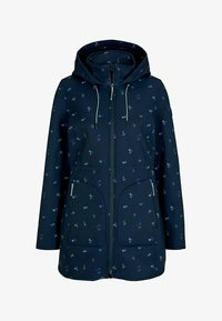 TOM TAILOR - CASUAL  - Soft shell jacket - navy colorful floral design - 1