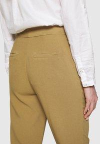 Anna Field - BASIC BUSINESS PANT SLIM LEG - Pantaloni - camel - 3