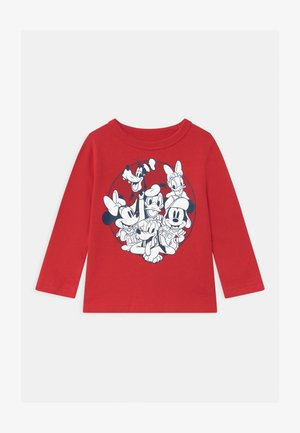 TODDLER BOY DISNEY MICKEY MOUSE & FRIENDS GRAPHIC - Long sleeved top - modern red