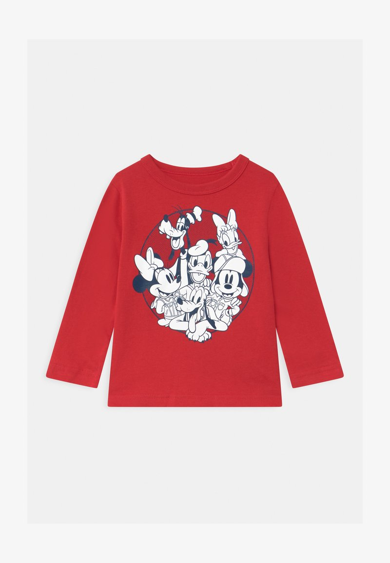 GAP - TODDLER BOY DISNEY MICKEY MOUSE & FRIENDS GRAPHIC - Longsleeve - modern red