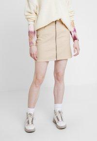 Roxy - MAJOR CHANGE - A-line skirt - ivory cream - 0
